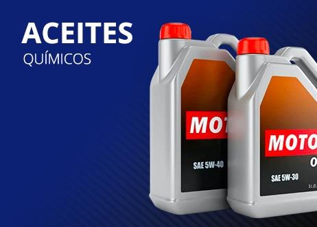 aceites quimicos para carros